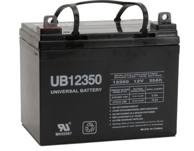 35Ah Battery for fish finder long duration