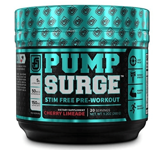 stim-free pre workout supplements